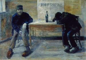 """""""Los borrachos"""" (1883"""
