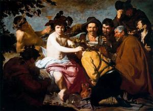 """""""El triunfo de Baco"""" o """"Los borrachos"""" (1628-1629"""