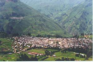 Vista de la capital de la provincia de Huarochirí. Fuente: http://www.huarochiriusa.com