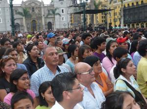 El peso demográfico de Lima Metropolitana hace casi imposible que Lima - Provincias tenga representación parlamentaria. Fuente: www.cronicaviva.com.pe
