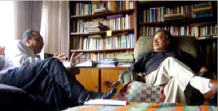 Entrevistando a Sinesio López. Lima, 22 de febrero de 2010
