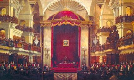 El primer Parlamento peruano (1822
