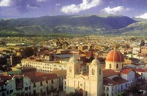 Vista de la Plaza Constitución de Huancayo