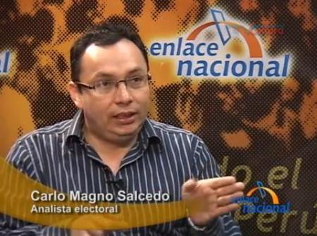 Carlo Magno Salcedo, entrevistado por Enlace Nacional, 3 de diciembre de 2010