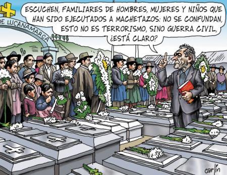Carlincatura. La República, 13 de noviembre de 2011.