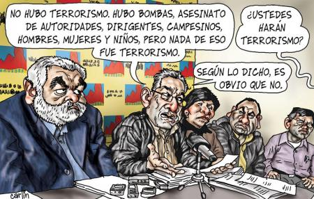 Carlín. La República, 20 de enero de 2012.