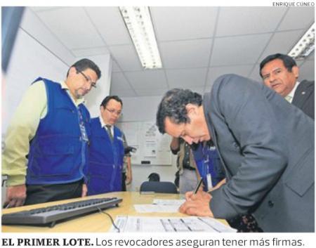 Fuente: El Comercio, 05 de abril de 2012, p. a4