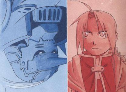 Elric: Rojo & Azul