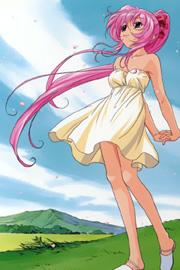 Kurumi en el viento