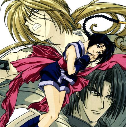 Misao, Kenshin & Aoshi