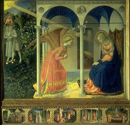 anunciacion virgen maria arcangel gabriel ave maria dios te salve oracion mariana no recibas la eucaristia en la mano karla rouillon krouillong