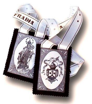 krouillong karla rouillon escapulario carmelita no recibas la eucaristia en la mano santo escapulario virgen maria