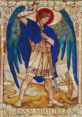 exorcismo de san miguel arcangel leon XIII krouillong karla rouillon gallangos no recibas la eucaristia en la mano