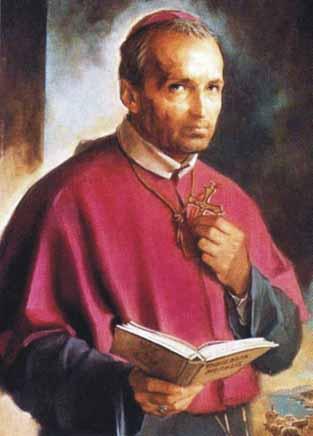 san alfonso maria de ligorio escapulario krouillong karla rouillon gallangos no recibas la eucaristia en la mano