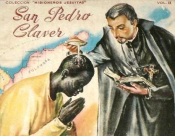 san pedro claver esclavos negros bautizando bautizo krouillong karla rouillon gallangos no recibas la eucaristia en la mano