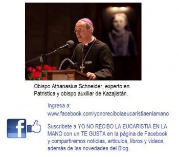 krouillong karla rouillon gallangos yo no recibo no recibas la eucaristia en la mano obispo athanasius schneider libro es el señor