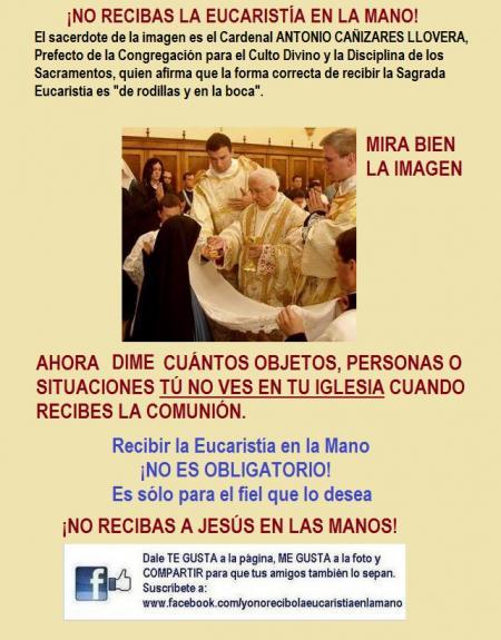 si te niegan la comunion de rodillas en la boca eucaristia krouillong no recibas la eucarisita en la mano yo no recibo la eucaristia en la mano comunion en la mano