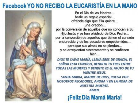 krouillong feliz dia de la madre tarjetas dia de la madre feliz dia mama saludos oraciones comunion en la mano ministros extraordinarios de la comunion karla rouillon gallangos