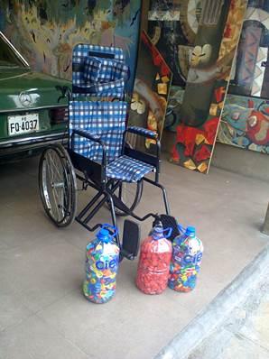 krouillong silla de ruedas chapitas de gaseosa  karla rouillon gallangos no recibas la eucaristia en la mano comunion en la mano