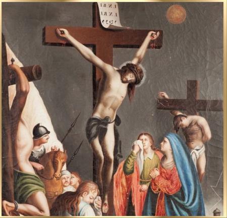 duodecima estacion via crucis semana santa krouillong karla rouillon gallangos no recibas la eucaristia en la mano comunion en la mano yo no recibo la eucaristia en la mano san alfonso maria de ligorio