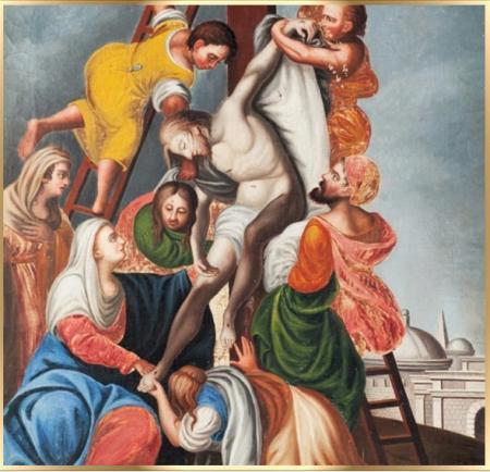 decimo tercera via crucis semana santa krouillong karla rouillon gallangos no recibas la eucaristia en la mano comunion en la mano yo no recibo la eucaristia en la mano san alfonso maria de ligorio