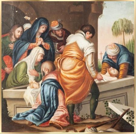 decimo cuarta estacion via crucis semana santa krouillong karla rouillon gallangos no recibas la eucaristia en la mano comunion en la mano yo no recibo la eucaristia en la mano san alfonso maria de ligorio