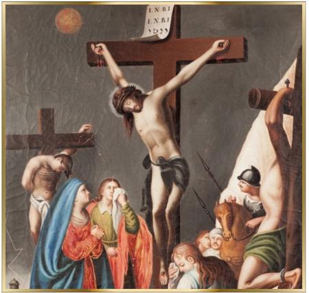 via crucis semana santa krouillong karla rouillon gallangos no recibas la eucaristia en la mano comunion en la mano yo no recibo la eucaristia en la mano san alfonso maria de ligorio
