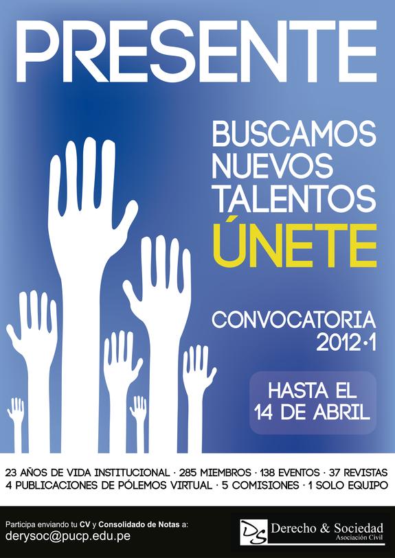 Convocatoria 2012-1