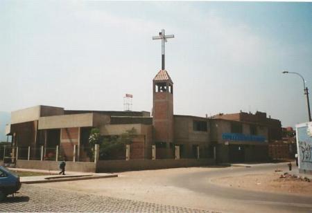 Capilla Cuerpo de Dios-Cooperativa Andahuaylas Santa Anita