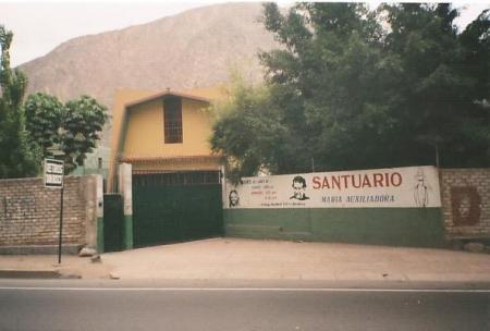 Santuario Maria Auxiliadora-Chosica