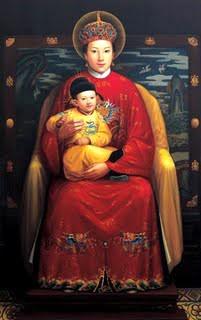 Virgen Maria y el Nino Jesus