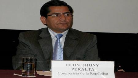 Congresista Jhony Peralta