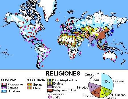 El atlas de las religiones le monde