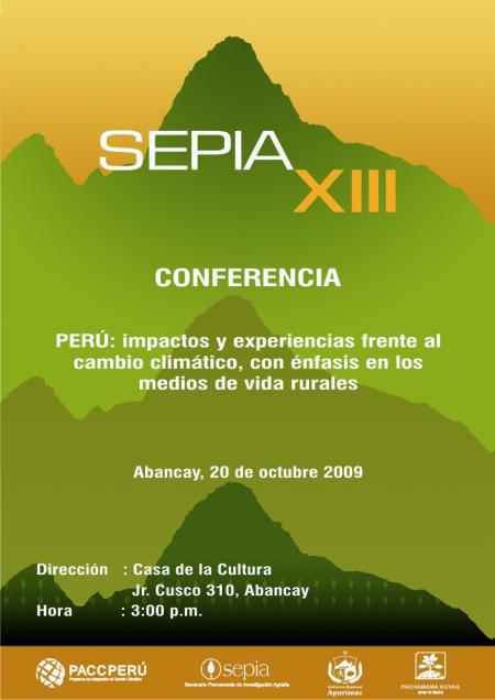 SEPIA XIII Abancay