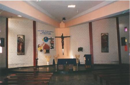 Altar Capilla Caja de Agua