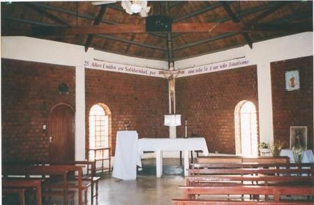 Altar Capilla Cristo Pobre