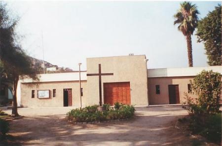 Capilla Caja de Agua Cerro San Cristobal