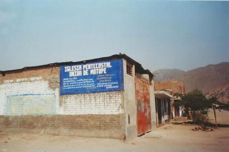 Iglesia Pentecostal Unida-Cruz de Motupe