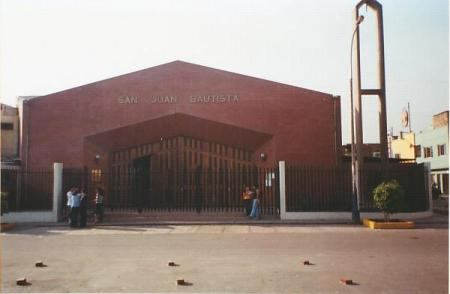 Parroquia San Juan Bautista de Zarate