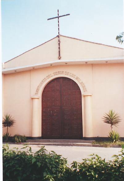 Santuario Senor de los Milagros Zarate