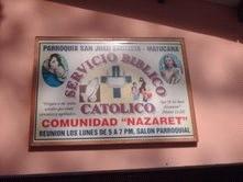 Servicio Biblico Catolico Comunidad Nazareth Matucana