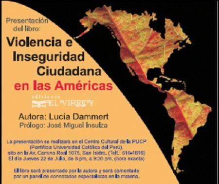 Violencia e inseguridad ciudadana