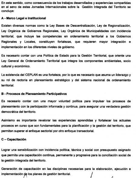 Declaracion de Lima 1