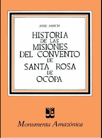 Historia de las Misiones de Santa Rosa de Ocopa
