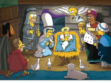 Simpsons rinden culto a Jesus