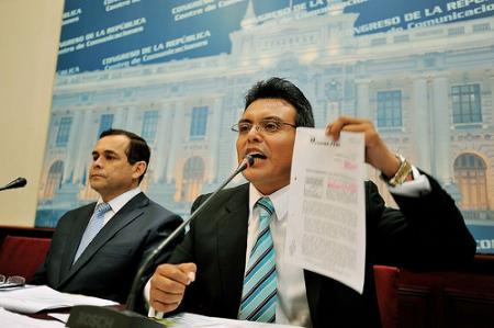 Congresista Jose Maslucan