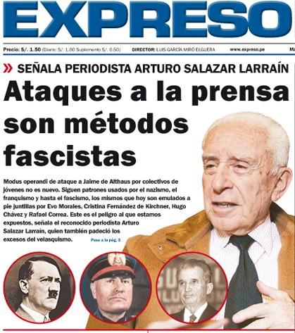 Metodos fascistas