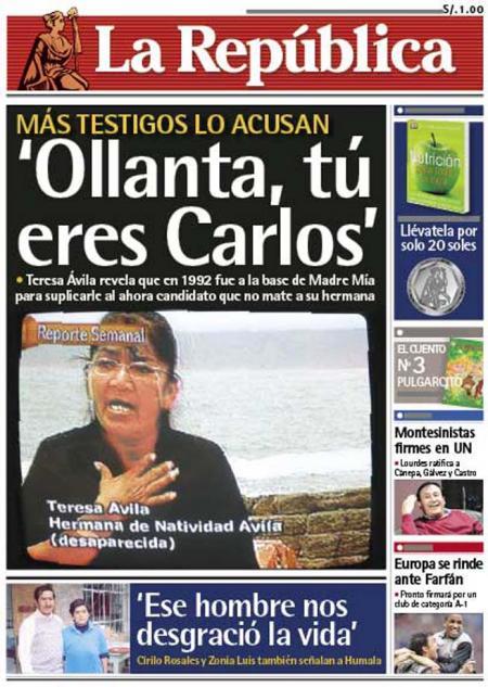 Tu eres Carlos