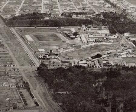 Ferrocarril a Chorrillos hoy Via Expresa 1930