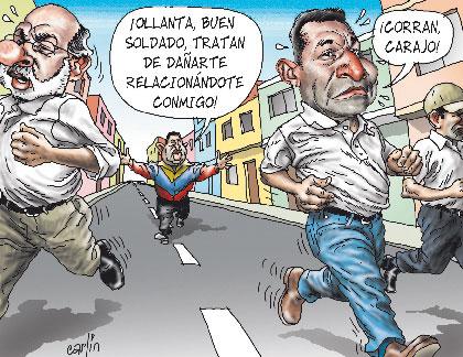 Ollanta soldado de Chavez